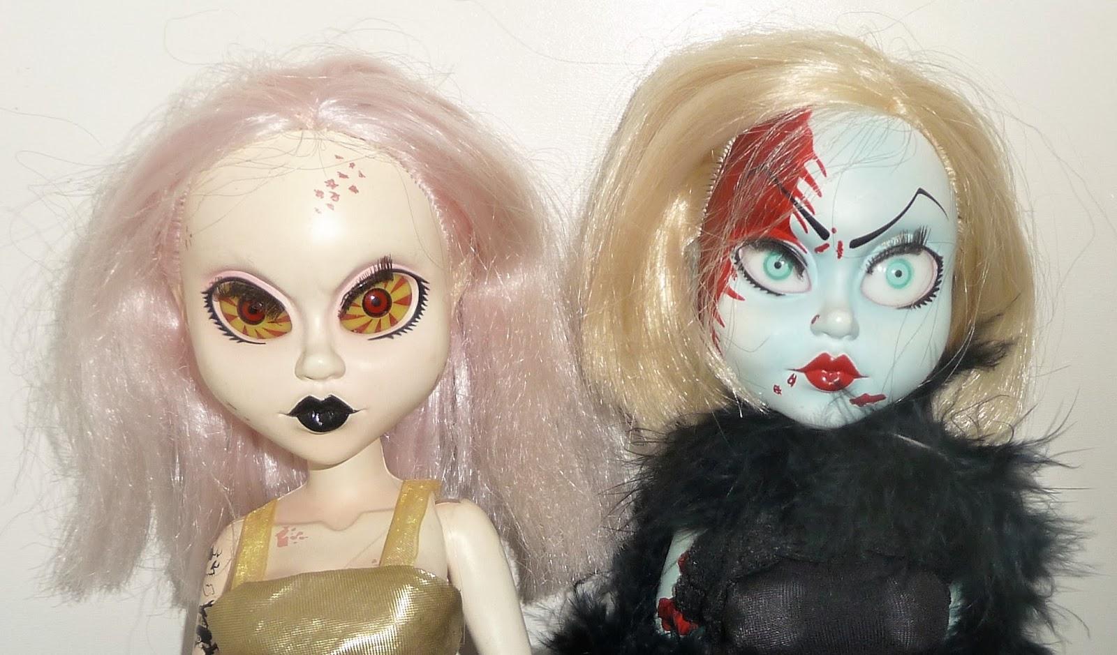 Dead dolls fashion victims series Living Dead Dolls Fashion Victim Kitty Crazy Doll Lady