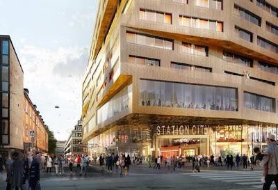 Arkitektur: Nya Station Stockholm City