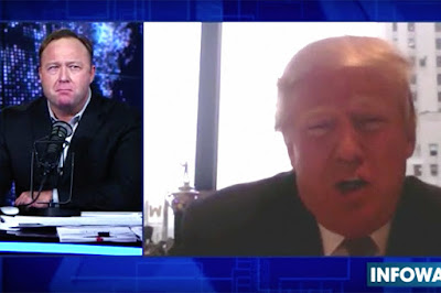 Is Infowars' Paul Joseph Watson schizophrenic? Donald-trump-alex-jones