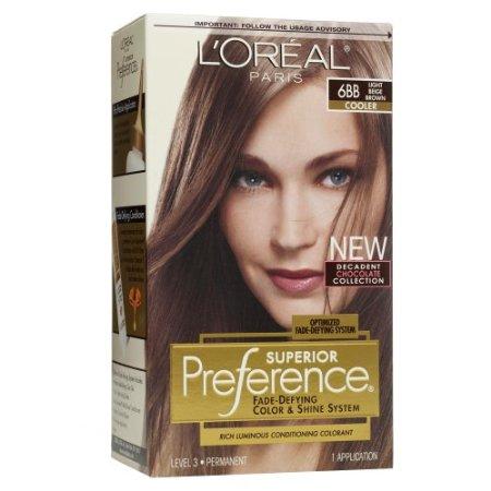Loreal Hair Colors on Target Loreal Preference Hair Color Light Beige Brown 6bb Jpg