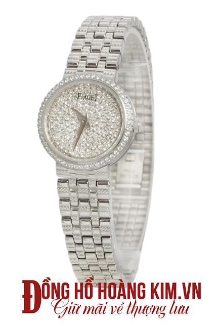 Đồng hồ nữ Piaget đính đá đẹp 2015