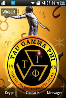 General Tau Gamma Samsung Corby 2 Theme Wallpaper