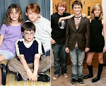 Rony, Harry e Hermione