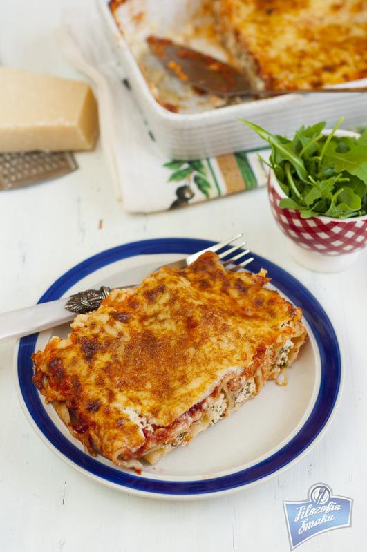 Cannelloni z ricottą przepis