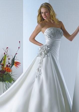 wedding dress corsetactress kirstie designer gown