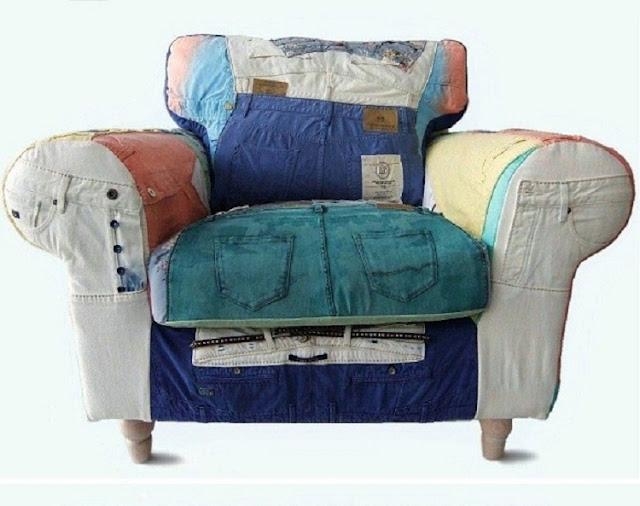 patchwork fauteuil scotch & soda pants