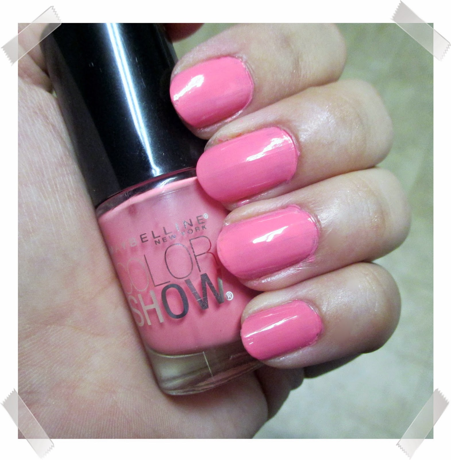 Review <br> Maybelline Color Show Nail Lacquer <br> (Summer Edition ...