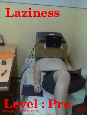Lazy Gamer Computer Funny Level Pro