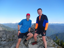 The Top of the West Lion - Dave and Neil