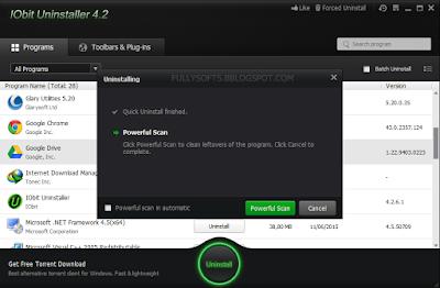 Download IObit Uninstaller 4.2.6.1 Final Terbaru