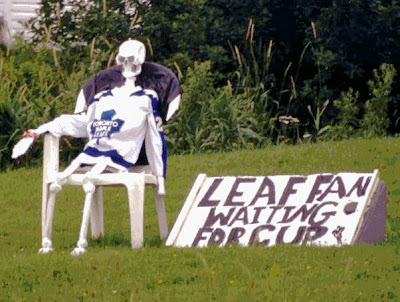 leafs fan waiting for cup