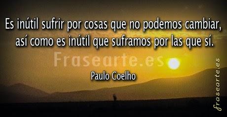 Frases de Paulo Coelho para la vida.