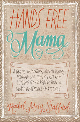 VeegMama interview with Hands Free Mama author, Rachel Macy Stafford