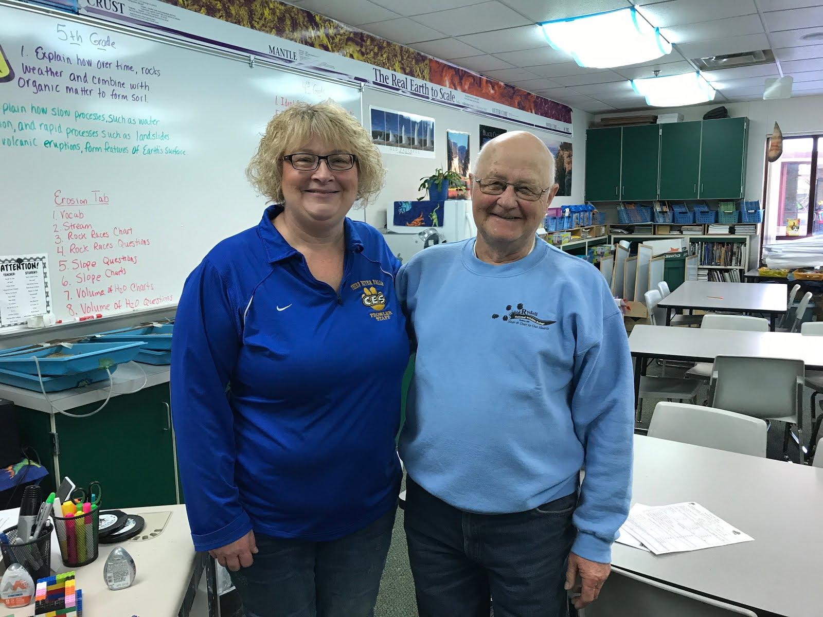 Meet Mrs. Miller & Kenny!