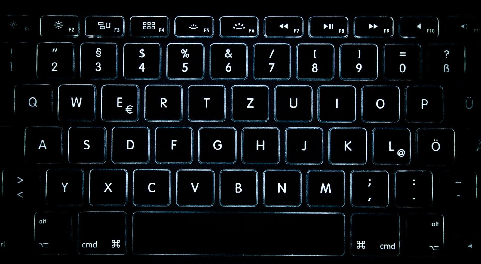 Download Just Keys Wallpaper, Keyboard Wallpapers Black
