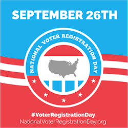 } National Voter Registration Day