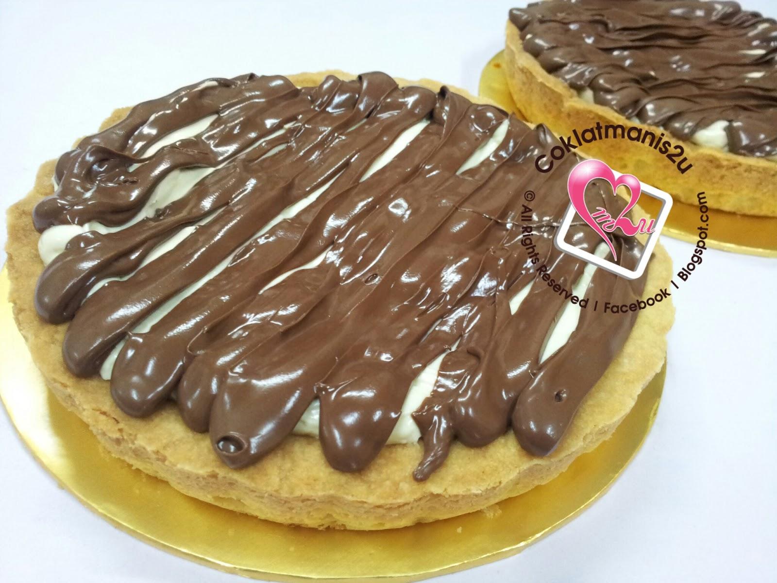 Coklatmanis2u Nutella Cheese Tart