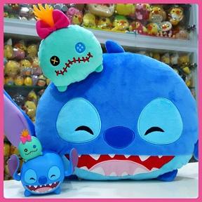 2017 Disney Tsum Tsum Stitch & Scrump
