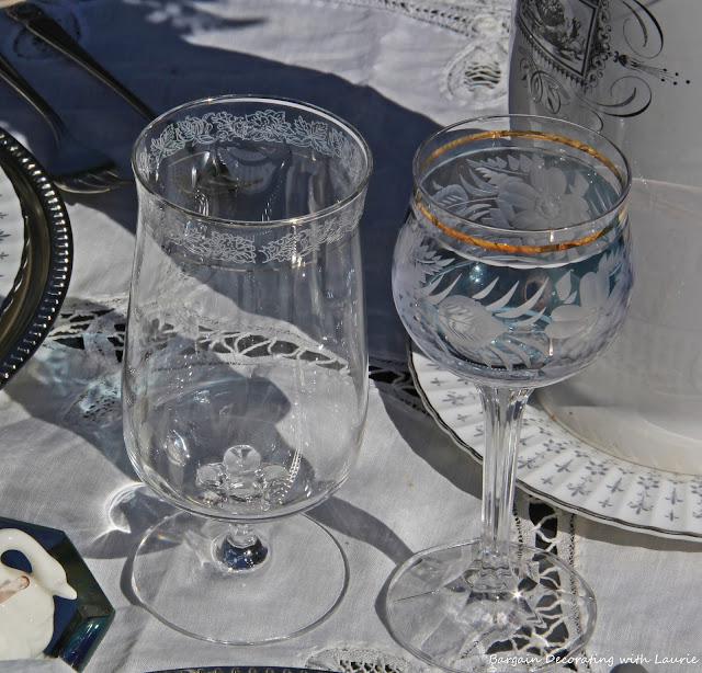 Outdoor Tablescape-Bargain Decorating with Laurie