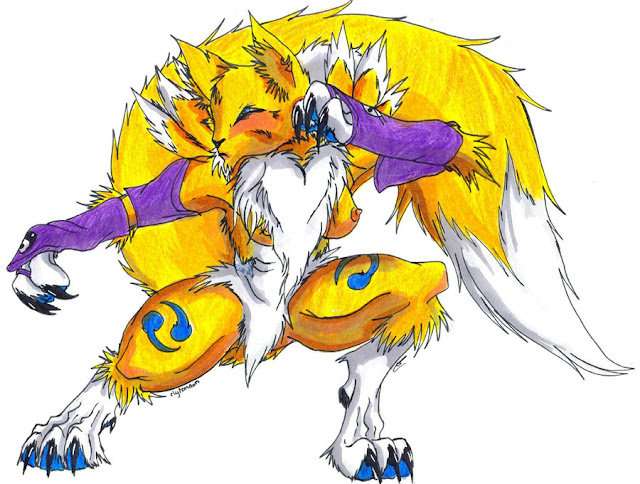 +Renamon+ por NelsonNoir