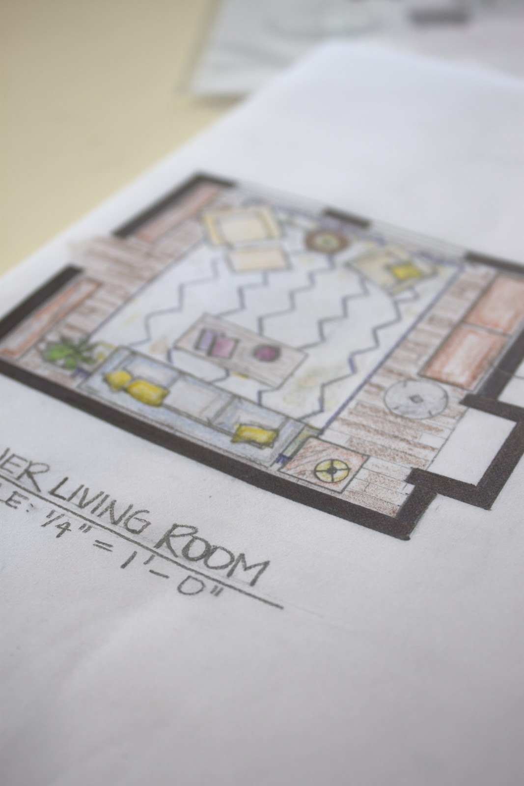 On My Desk: Furniture Plan Reveal