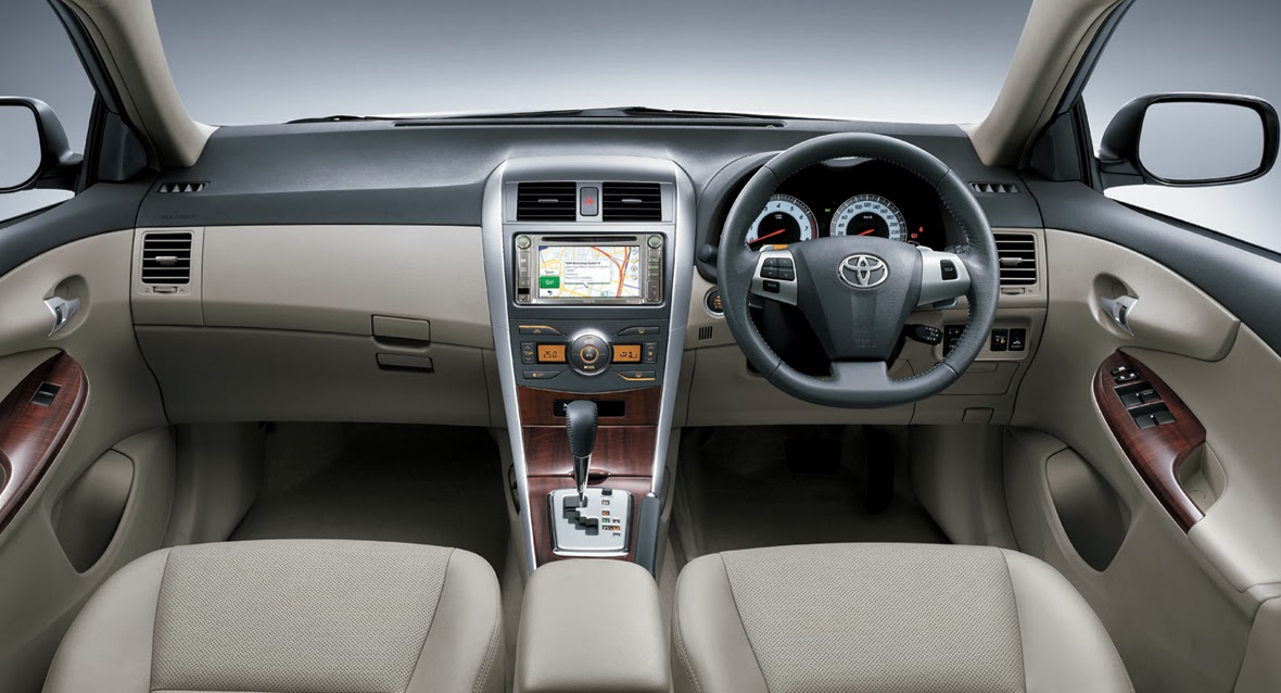 Mobil Sedan Corolla Baru 2014