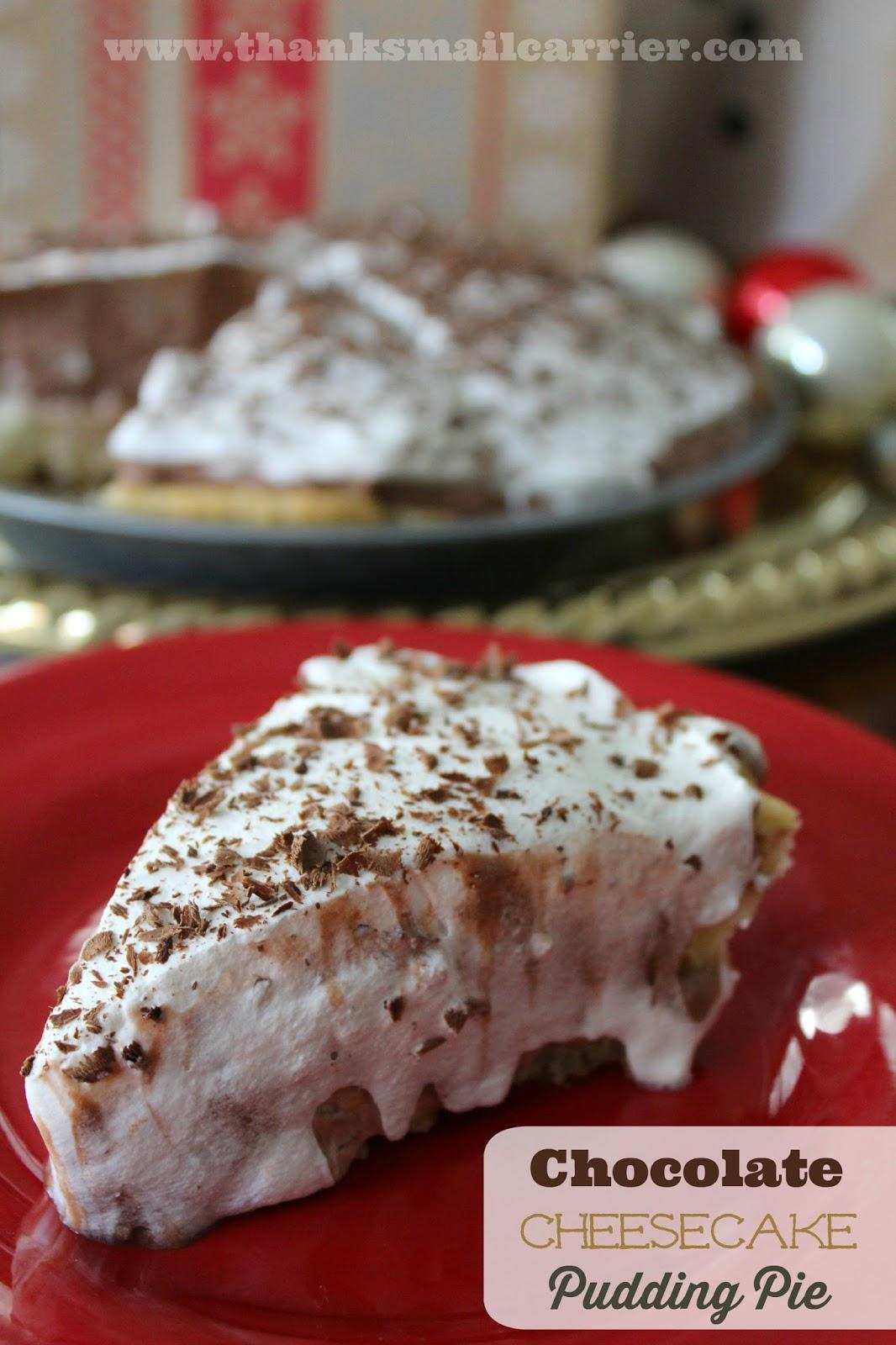 pudding whip cream pie
