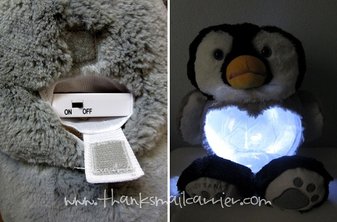 Teddy Tank nightlight