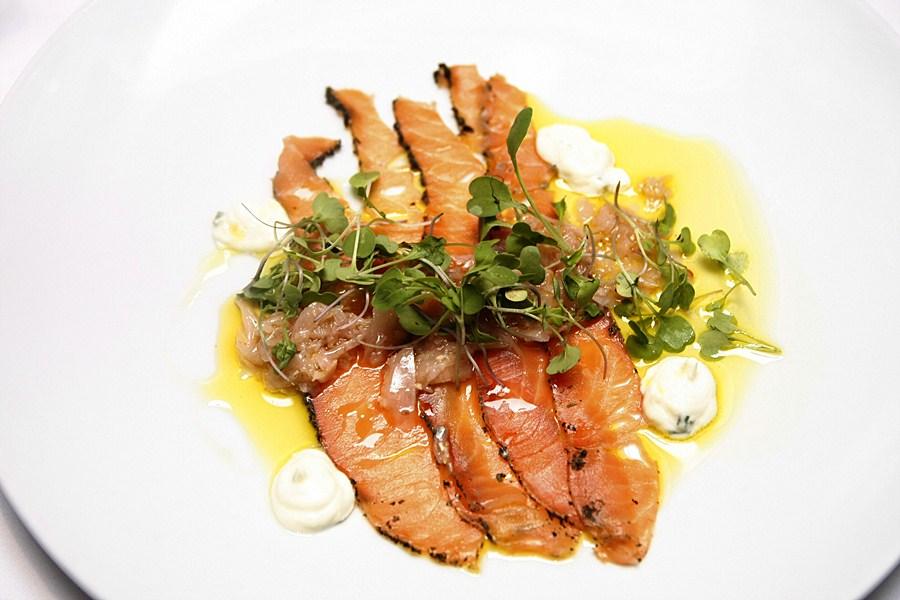 71 Gramercy Restaurant Cured Salmon