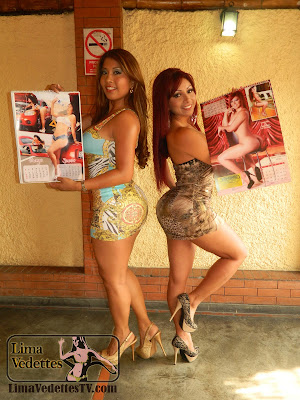 Irina Grandez del aguila Daysi Araujo Daysi Araujo e Irina Grandez presentan sus Calendarios para este 2013.