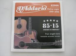 Senar gitar ( d'ddariio ez 900 )