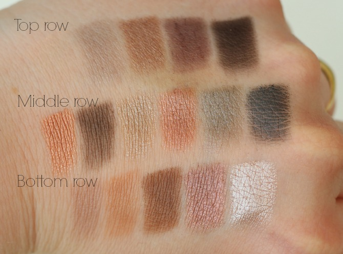 Makeup Revolution I ♥ Makeup | Naked Underneath swatches