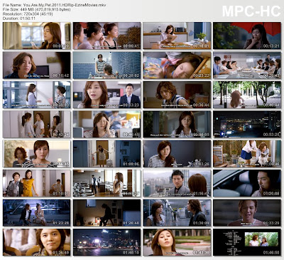 Download You Are My Pet 2011 480p HDRip 500MB Korean Movies