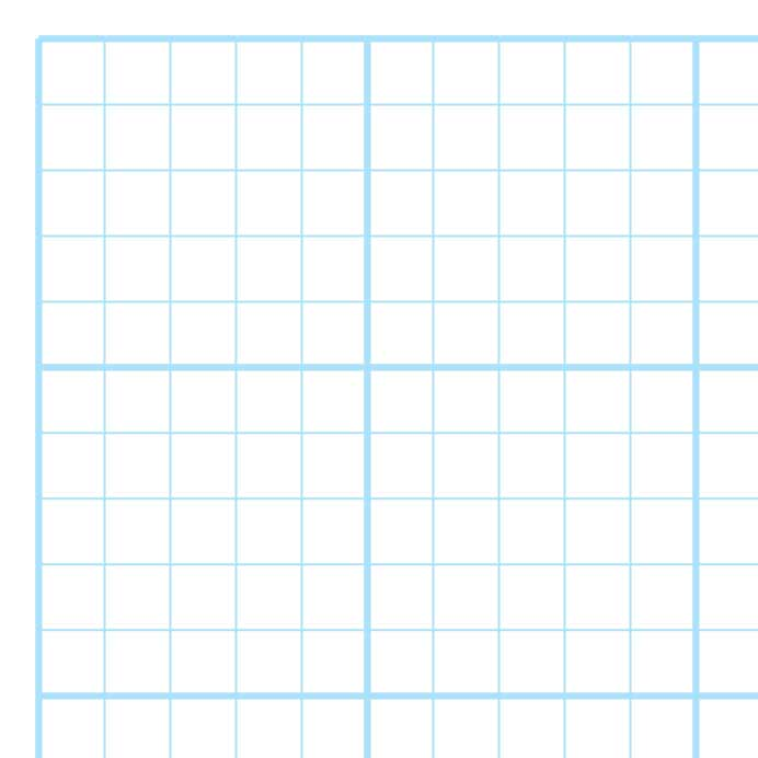 blue graph paper 5 divisions per inch with bold lines at every 1 inch ...