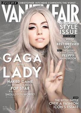 LADY GAGA VANITY FAIR MAGAZINE COVER