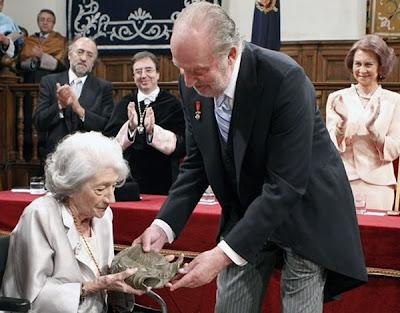 El premio Cervantes