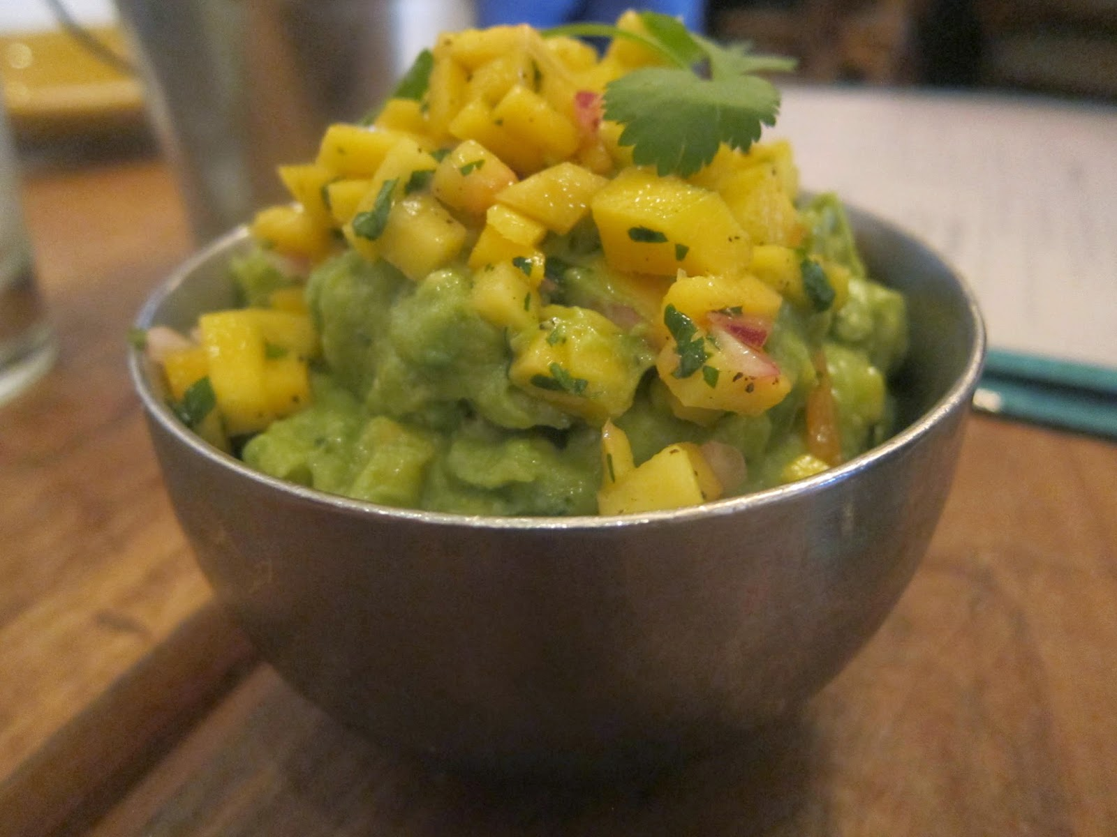 Mango Guacamole from The Painted Burro | The Economical Eater
