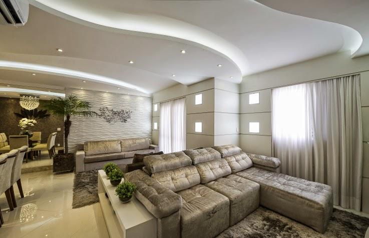 decoracao de apartamentos pequenos modernos:Apartamento decorado moderno e maravilhoso – conheça todos os