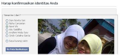 Verifikasi Foto Teman, Facebook Verifikasi Foto Teman, Akun Facebook Terkunci, Artikel Trik Facebook