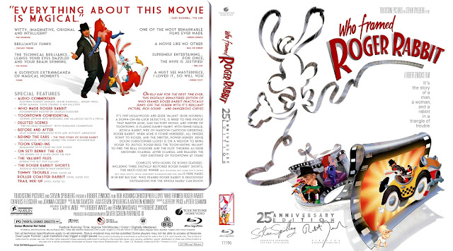 Capa Bluray Who Framed Roger Rabbit