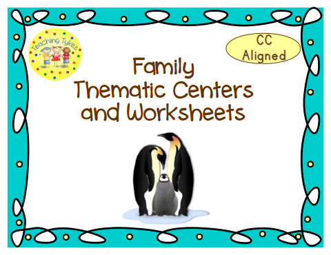 http://www.teacherspayteachers.com/Product/Family-Thematic-Centers-and-Worksheets-Common-Core-Aligned-764922