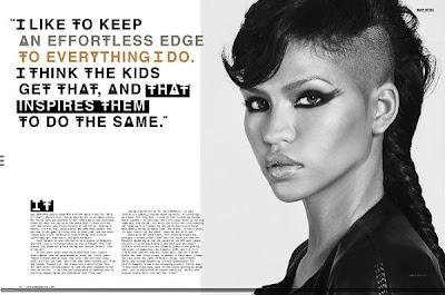 cassie3 >Cassie en couverture de Status Magazine