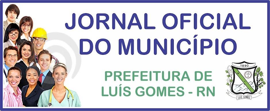DIARIO OFICIAL DE LUIS GOMES/RN