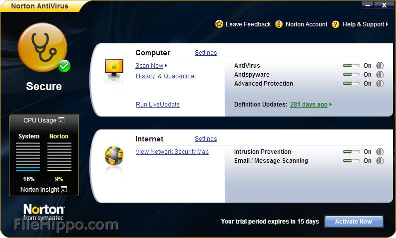 windows xp service pack 3 download norton antivirus free. Black Bedroom Furniture Sets. Home Design Ideas