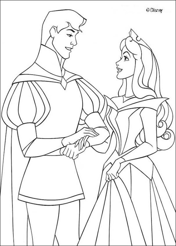 Sleeping Beauty Disney Coloring Pages Picture Ideas title=