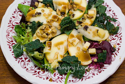 Harvest Apple Kale Salad