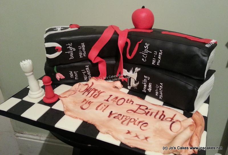 Jos Cakes Twilight Birthday Cake