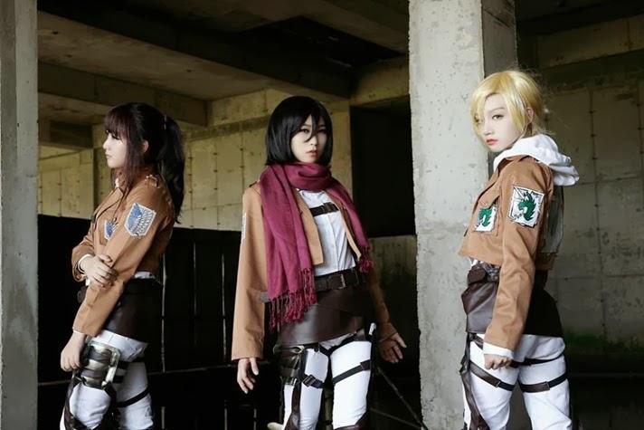 Attack on titan cosplay annie