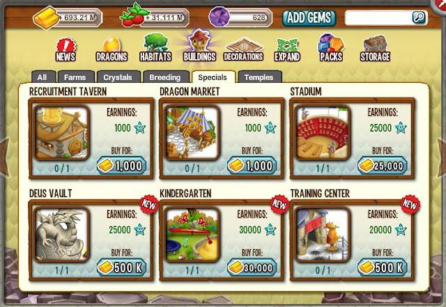 como comprar la boveda de deus en dragon city