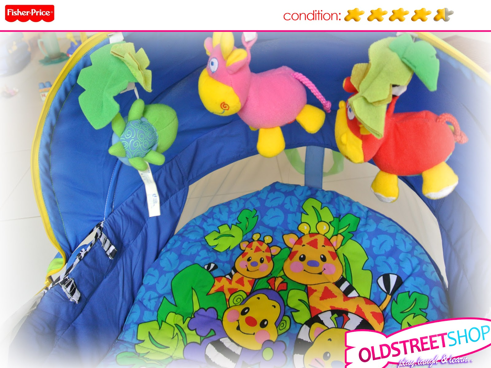 fisher price on the go baby dome instructions